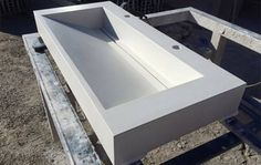 Makers Lane :: Concrete Basin Bench Custom Made, Bespoke made in Australia.