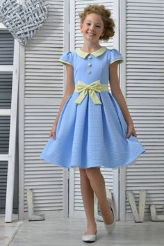 silver bow design jacquard girls pleated holiday dress w velvet