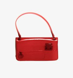 View this item and discover similar for sale at - Limited edition Louis Vuitton bag from the Fall 2003 collection. Crafted of red LV Monogram matte leather with red coated hardware. Unique Handbags, Red Shoulder Bags, Luxury Bags, Op Art, Fashion 2017, Fashion Handbags, Monogram, Louis Vuitton, Leather
