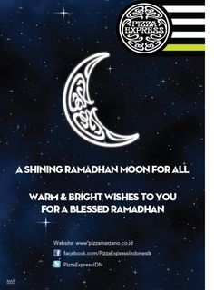 Pizza Express would like to wish everyone a Happy Ramadhan!