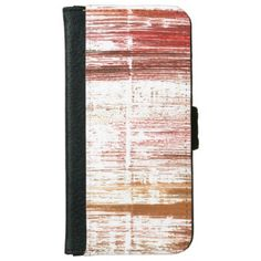 Lotion abstract watercolor wallet phone case for iPhone 6/6s - watercolor gifts style unique ideas diy