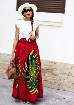 Ecstasy Models — ecstasymodels:   Ankara Full Maxi Skirt  I've been...