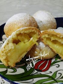 limon kremalı alaçatı kurabiyesi - galletas - Las recetas más prácticas y fáciles Cookie Recipes, Dessert Recipes, Delicious Desserts, Yummy Food, Tea Time Snacks, Sweet Cookies, Turkish Recipes, No Bake Cake, Sweet Recipes