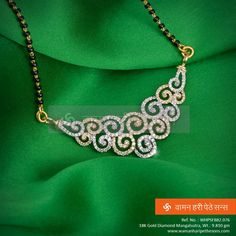 do in wire maybee Mangalsutra Bead Jewellery, Jewelery, Cartier Jewelry, Beaded Jewelry, Gold Pendent, Diamond Pendant, Diamond Jewelry, Diamond Mangalsutra, Gold Jewelry Simple