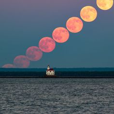 'Strawberry Moon': Amazing Photos of the Rare Summer Solstice Full Moon. 2016