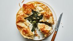 How to Make This Beaaauuutiful Spanakopita Pie | Bon Appetit