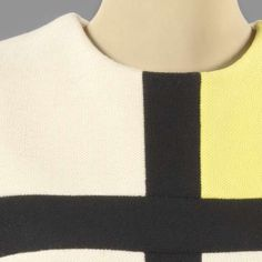Mondrian dress, Yves Saint Laurent, Abraham, Bianchini-Férier, 1965 - Search - Rijksmuseum