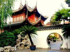 China's Abstract Doorways Are Anything but Square : Yu Yuan Garden Condé Nast Traveler