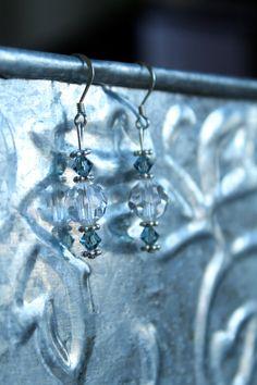 Swarovski earrings & bracelet