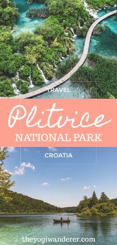 Your guide to Plitvice Lakes National Park Croatia one of the most beautiful places in Europe. The best nature walks hikes waterfalls and boat trips in this bucket list destination. Backpacking Europe, Europe Travel Guide, Travel Guides, Travel Destinations, Europe Packing, Packing Tips, Travel Packing, Usa Travel, European Destination