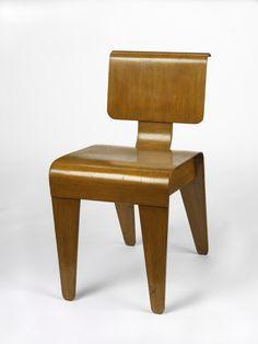 Dining chair, 1936, Kenzo Tange