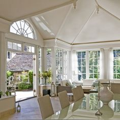 Georgian-style conservatory | Country conservatory ideas | Conservatory | PHOTO GALLERY | Country Homes and Interiors | Housetohome.co.uk