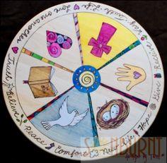 Sonburnt Designs: Faith-Based Lazy Susan (new)