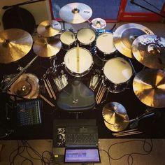 Cobus potgieter's DW drum kit