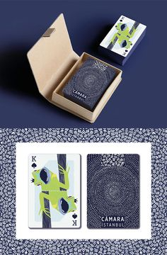Cámara Playing Cards on Behance by Cámara Istanbul.