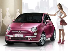 Pink Fiat? YES!