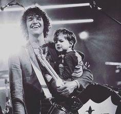 Luke with his son- SOOOO ADORABLE!!!!