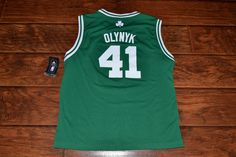 Adidas Boston Celtics Kelly Olynyk Youth Jersey Large L New from  17.99 c4f9ad3e1