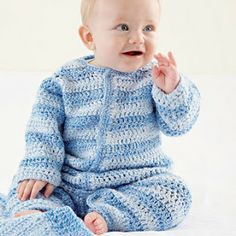 Miss Julia's Vintage Knit & Crochet Patterns: Free Patterns - 20+ Everything for Baby in Knit & Crochet