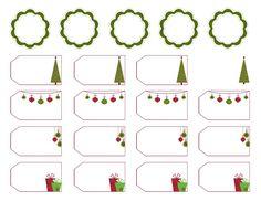vánoční jmenovky, jmenovky na dárky, jmenovka na dárek Christian, Printable Tags, Christians