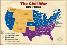 Civil War Union Strategy Map by DQ History World History Lessons, Us History, Family History, American Civil War, American History, Strategy Map, History Teachers, History Education, American Frontier