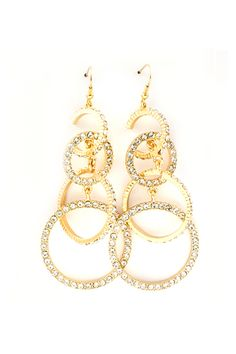 Crystal Aggie Earrings | Awesome Selection of Chic Fashion Jewelry | Emma Stine Limited