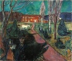 Evening Mood  ca. 1927 / Oil on canvas / 110 x 129 cm Munch Museum