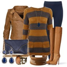 A fashion look from November 2012 featuring White Stuff sweaters, Le Silla boots and J.J. Winters clutches. Browse and shop related looks.