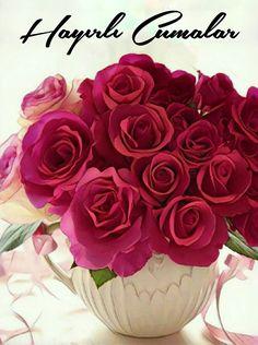 #Cuma mesajlar #Hayirli Cumalar #Hayırlı cumalar #HayirliCumalar #Hayırlıcumalar #Cumamesajları #cumamesajlari #islam Allah Islam, Education, Rose, Flowers, Plants, Pictures, Baskets, Lilac, Mesas