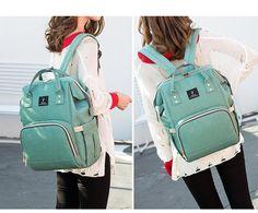 24bd9f809c 2019 Babies Diaper Bag With USB Interface Large Capacity Waterproof Bag  Kits Moms Maternity Travel Nursing