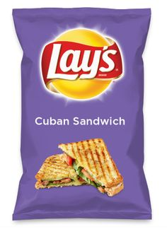 Wouldn't Cuban Sandwich be yummy as a chip? Lay's Do Us A Flavor is back, and the search is on for the yummiest flavor idea. Create a flavor, choose a chip and you could win $1 million! https://www.dousaflavor.com See Rules.
