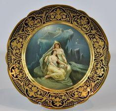 Royal Vienna Wintermarchen Cabinet Plate