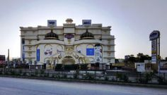 Early Morning view of The Celebration Mall Udaipur