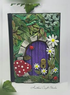 Secret Garden Faerie Door by Heather's Craft Studio on Etsy