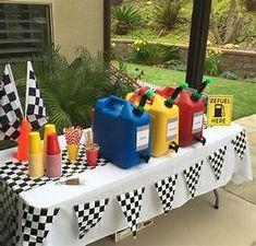 Race Car Birthday Party Ideas | Photo 29 of 37 | Catch My ...