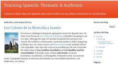 great blogs for spanish teachers