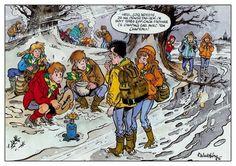 Les scouts vus par Walthéry