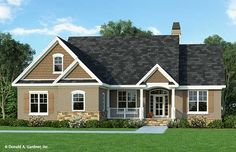 Home Plan The Tanglewood by Donald A. Gardner Architects