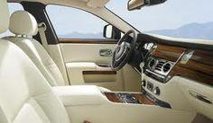 Interior of a Rolls Royce~