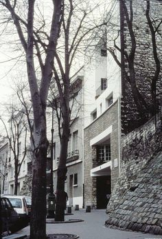 Tristan Tzara House IN Paris, Adolf Loos, 1926 Paris Architecture, Classic Architecture, Contemporary Architecture, Interior Architecture, Versailles, Modernist Movement, Chapelle, Built Environment, Le Corbusier