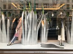 "BURBERRY, London, UK, ""Listen Daniel... My life is a constant game of hide and seek"", photo by Window Shoppings, pinned by Ton van der Veer"