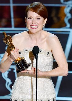 """Julianne Moore for Best Actress win for """"Still Alice"""" at the 87th Academy Awards"""