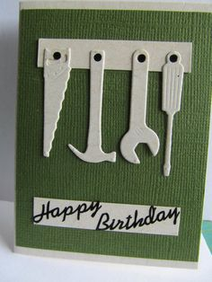 Card: Male birthday