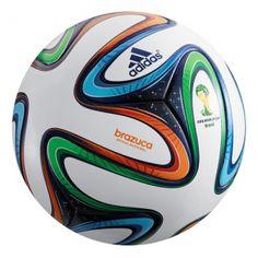 Adidas voetbal Brazuca, de officiële voetbal van het WK 2014.