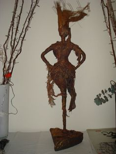 """Earth Mother"" - back - by SherLizz (inspired by the statues of Merilyn Thomas (November 2010)."