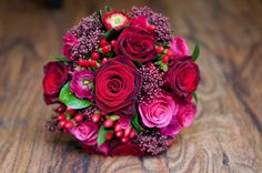 Strong Colours Wedding Flowers Gallery