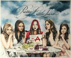 Image shared by Tanya. Find images and videos about pretty little liars, pll and ashley benson on We Heart It - the app to get lost in what you love. Pretty Little Lies, Pretty Little Liars Series, Pretty Little Liars Quotes, Pll, Abc Family, Best Shows Ever, Good Movies, Favorite Tv Shows, Art Drawings