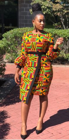 African Print Dress Custom made Ankara dress African Dress Kente Perfect for wedding, birthdays, parties etc. Available in any size, color & style Basic Shipping: 10 - 14 days Express Shipping: 5 - 7 days Ships Worldwide: All Countries African Fashion Ankara, African Inspired Fashion, Latest African Fashion Dresses, African Print Dresses, African Dresses For Women, African Print Fashion, African Attire, African Dress Designs, Ankara Styles For Women