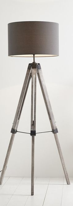 Mid Century Lamp | Harley Tripod Floor Lamp, a contemporary tripod lamp with a modern design.
