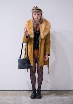 """Rebecca, 21 """"I like outfits to look like they have just been picked up off the floor, items that complement but at the same time are in no way pre-planned. I'm very influenced by the 70s era, but the..."""